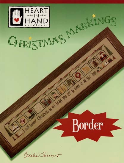 christmas markings border