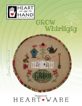 Bird in The Hand Christmas Cross Stitch Chart